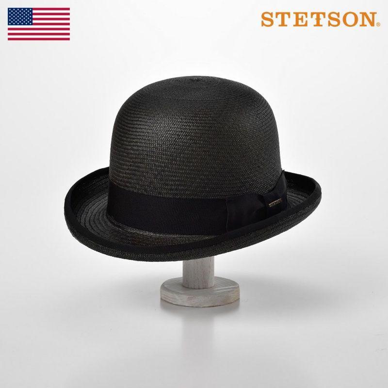 帽子 パナマハット STETSON(ステットソン) POIROT PANAMA G6(ポアロ パナマ G6)SH461 ブラック