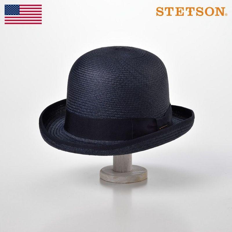 帽子 パナマハット STETSON(ステットソン) POIROT PANAMA G6(ポアロ パナマ G6)SH461 ネイビー