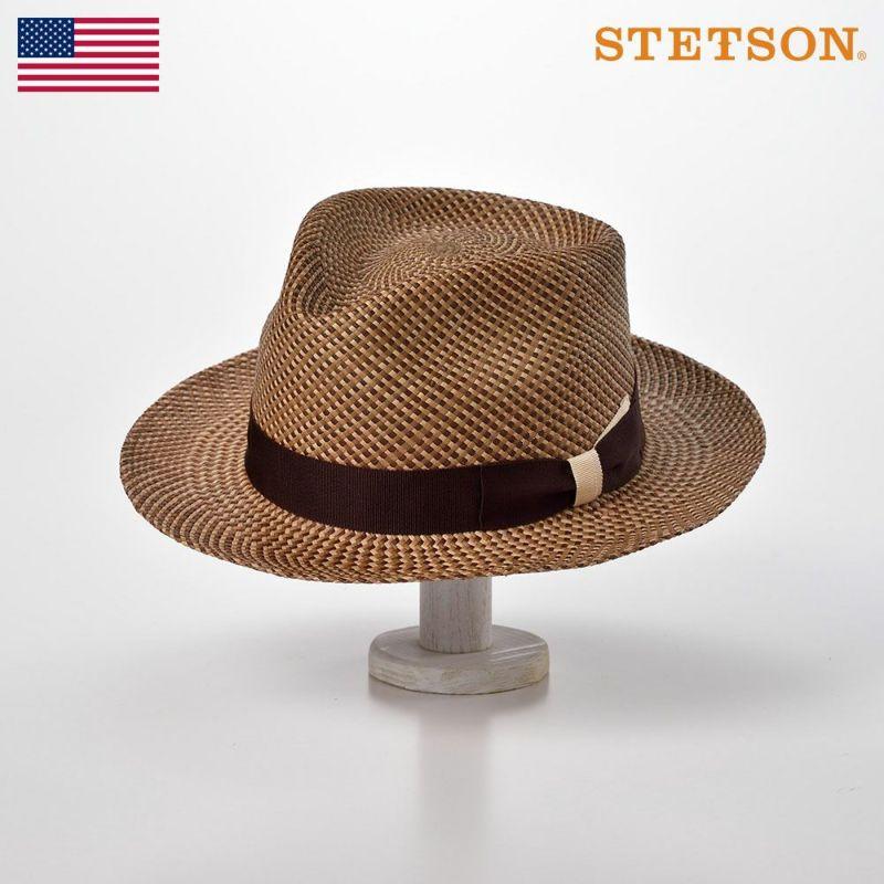 帽子 パナマハット STETSON(ステットソン) FOUR MIX PANAMA G3(フォー ミックス パナマ G3)SH581 ブラウン