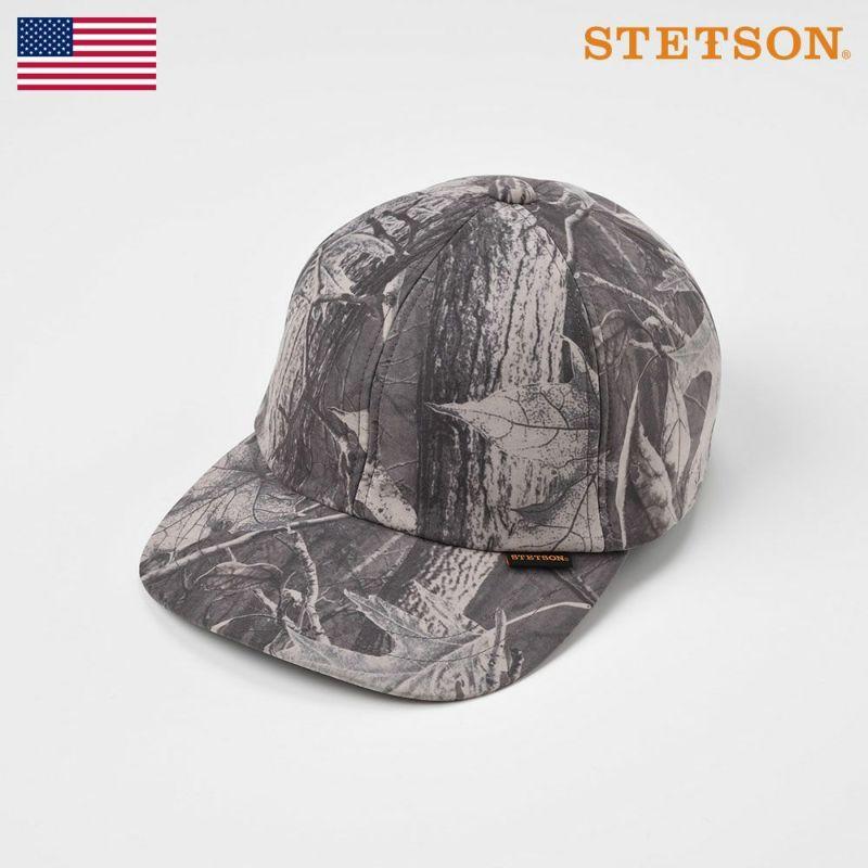 帽子 キャップ STETSON(ステットソン) LEAF CAP(リーフキャップ)SE499 グレー