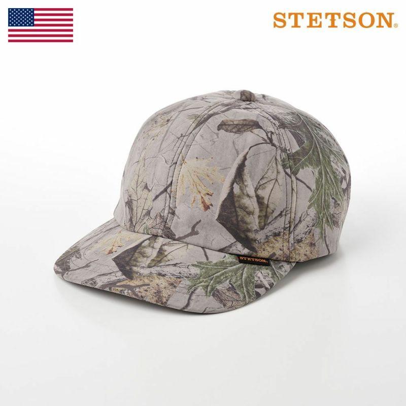 帽子 キャップ STETSON(ステットソン) LEAF CAP(リーフキャップ)SE499 モスグリーン