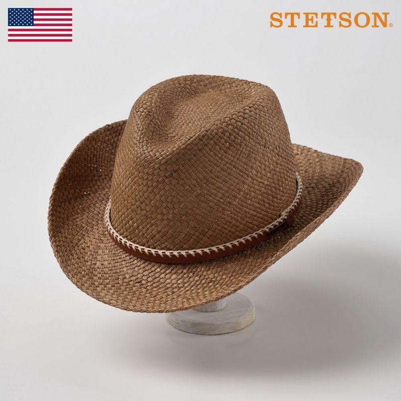 帽子 パナマハット STETSON(ステットソン) WESTERN(ウエスタン)SH335 シナモン