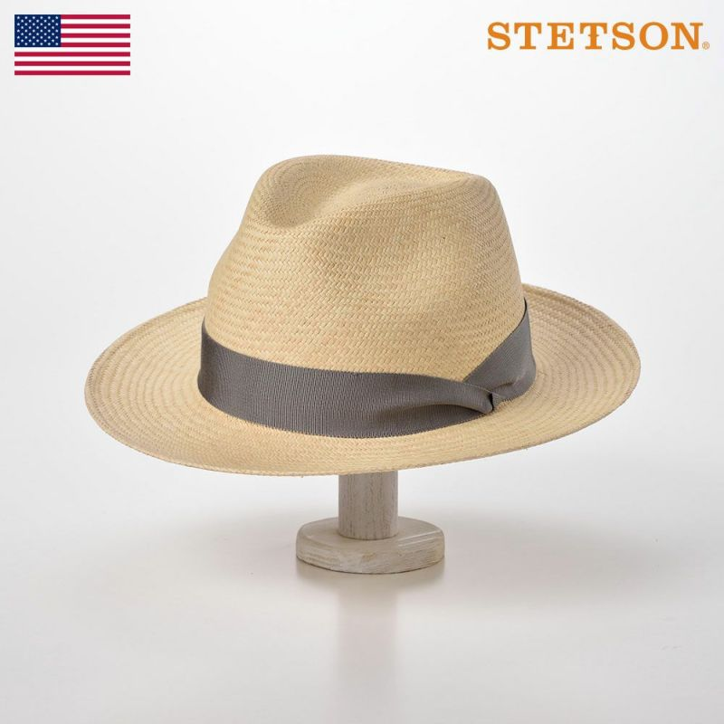 帽子 パナマハット STETSON(ステットソン) MANISH(マニッシュ)SH558 ナチュラル