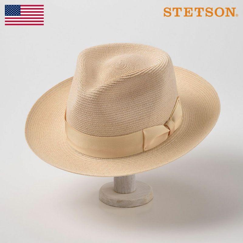 帽子 パナマハット STETSON(ステットソン) LUCCA(ルッカ)ST167 ナチュラル