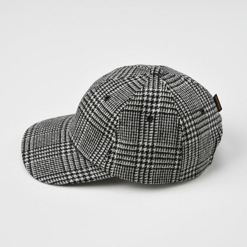 WASHABLE TWEED CAP(ウォッシャブルツイードキャップ)SE473 ブラック