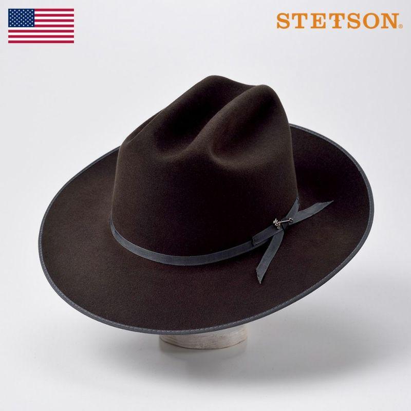 帽子 フェルトハット STETSON(ステットソン) OPEN ROAD [JAPAN LIMITED](オープンロード)ST141 ブラック