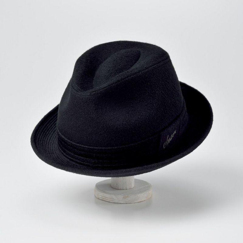 CASHMERE MIX HAT(カシミヤミックスハット)SE132 ブラック