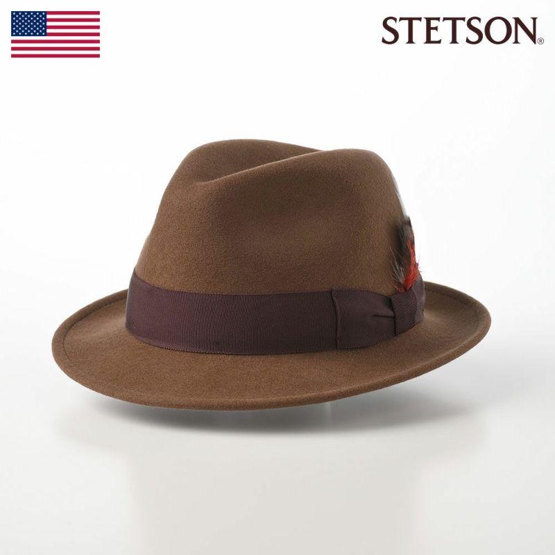 帽子 フェルトハット STETSON(ステットソン) CRUSHABLE WOOL HAT(クラッシャブルウールハット)SE217 キャメル