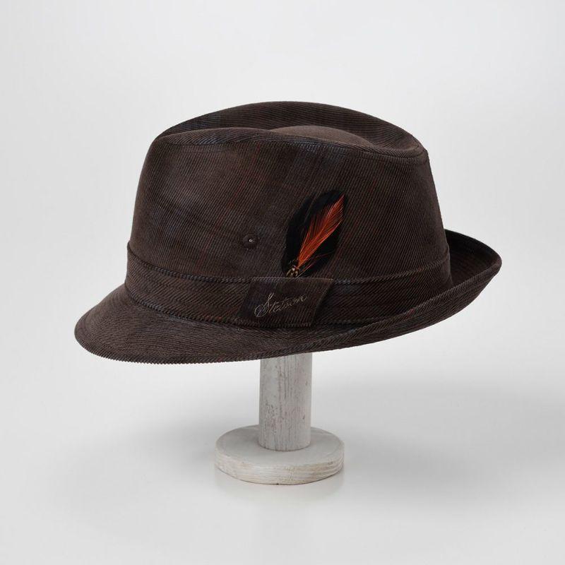 CHECK CORDUROY HAT(チェックコーデュロイハット)SE490 ブラウン
