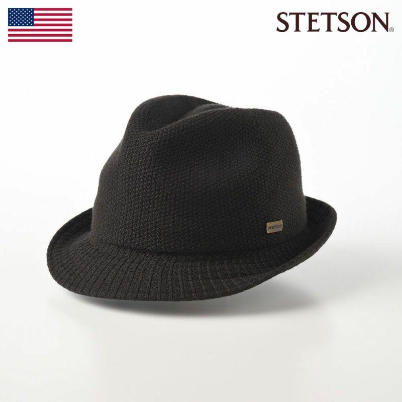 帽子 ソフトハット STETSON(ステットソン) THERMO HAT(サーモハット)SE149 ブラック
