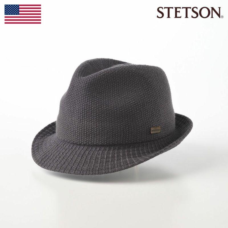 帽子 ソフトハット STETSON(ステットソン) THERMO HAT(サーモハット)SE149 グレー