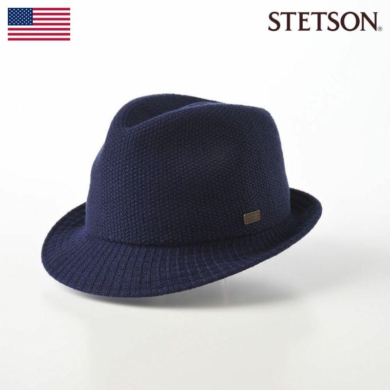帽子 ソフトハット STETSON(ステットソン) THERMO HAT(サーモハット)SE149 ネイビー