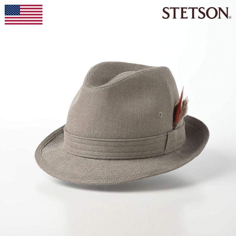 帽子 ソフトハット STETSON(ステットソン) NEW LESCAUT SS(ニューレスコー SS)SE073 オリーブ