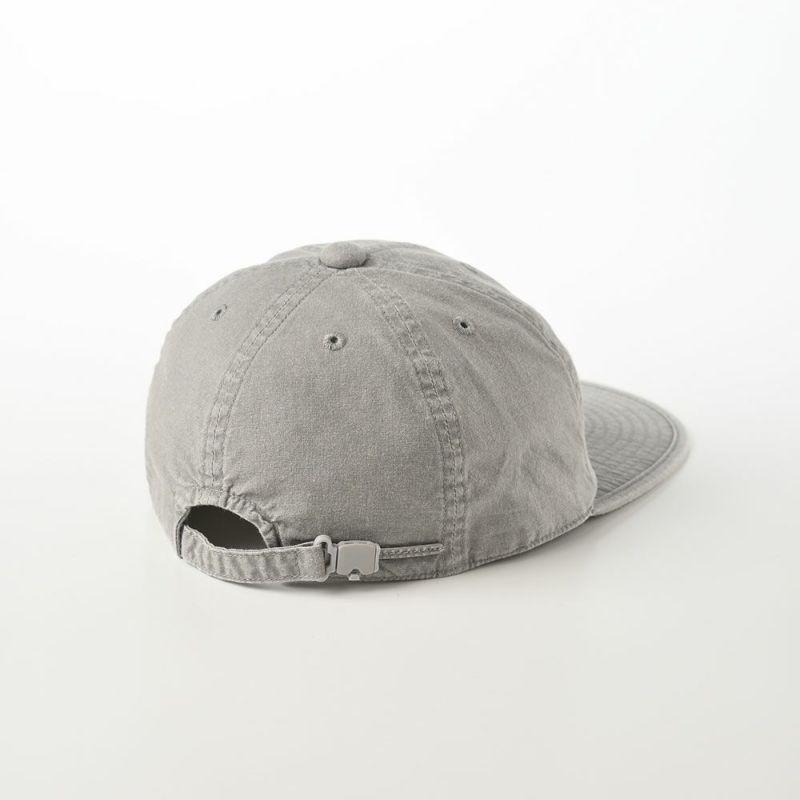 CAP OVERDYE COTTON(キャップ オーバーダイ コットン)SE077 グレー