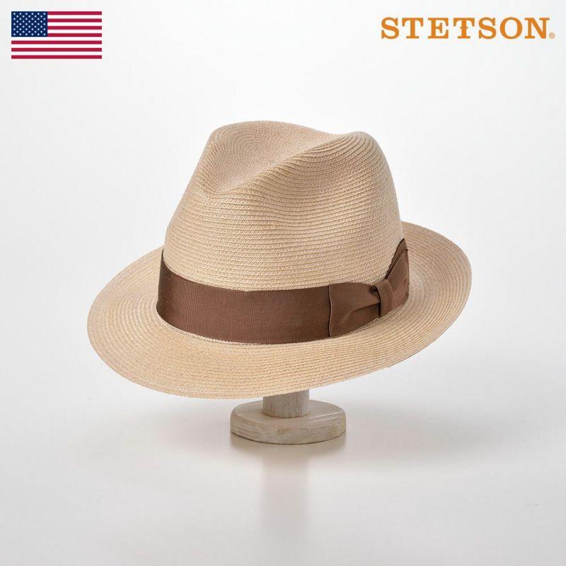 帽子 パナマハット STETSON(ステットソン) CHARLESTON HEMP(チャールストン ヘンプ)ST132 ナチュラル