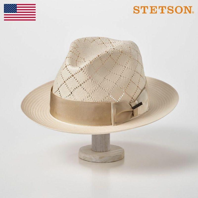 帽子 パナマハット STETSON(ステットソン) DARTMOUTH(ダートマス)ST134 ホワイト