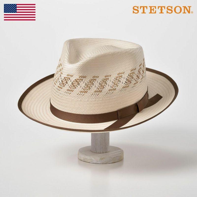 帽子 パナマハット STETSON(ステットソン) Kappa(カッパ)ST143 アイボリー