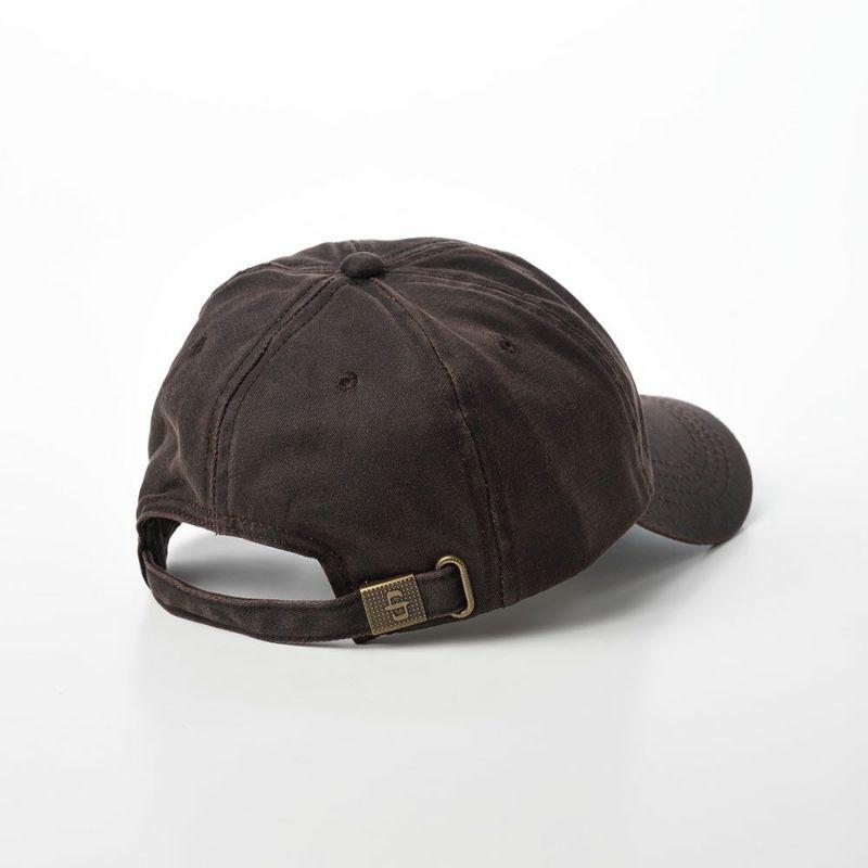 DISTRESSED COTTON CAP(ディストレスト コットンキャップ)ST195 ブラウン