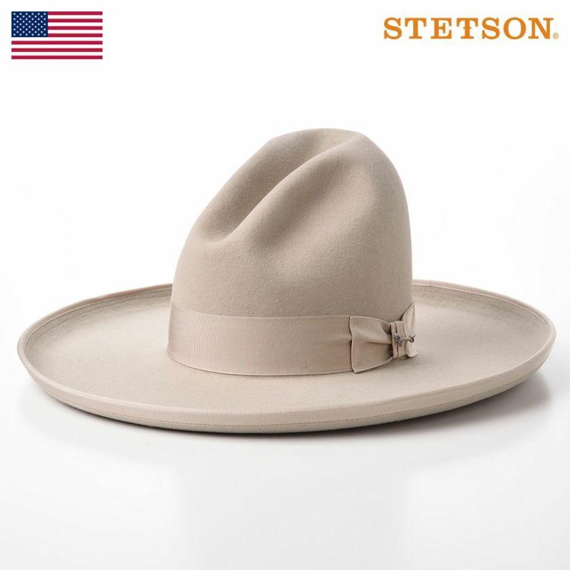 帽子 フェルトハット STETSON(ステットソン) TOM MIX(トムミックス)ST226 サンドベージュ