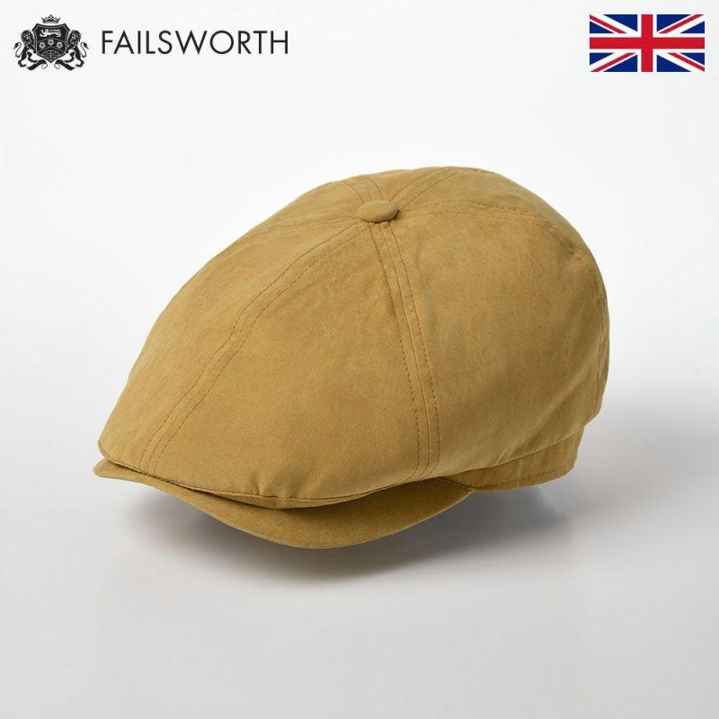 帽子 キャスケット FAILSWORTH(フェイルスワース) Micro Hudson(ミクロハドソン) マスタード