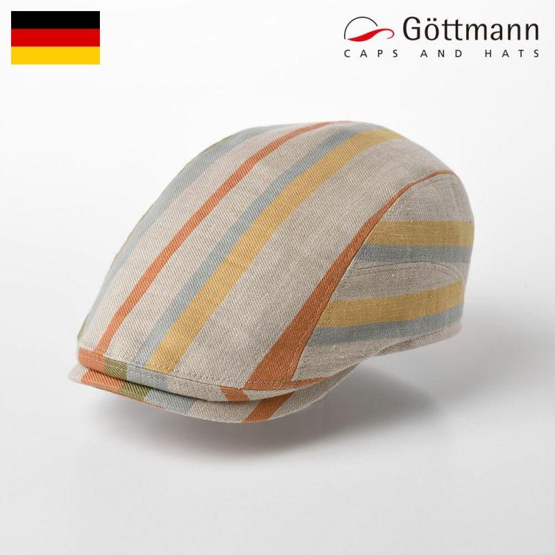 帽子 ハンチング Gottmann(ゴットマン) Richmond Stripe(リッチモンド ストライプ) G2810401 オレンジ