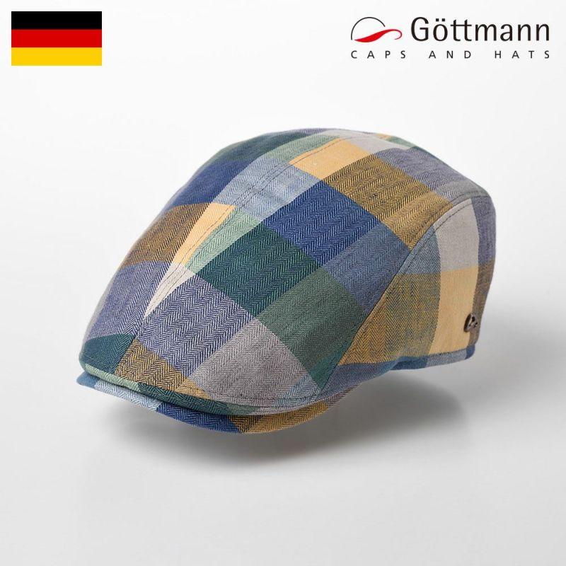帽子 ハンチング Gottmann(ゴットマン) Jackson Linen(ジャクソン リネン) G2638408 ブルーグリーン