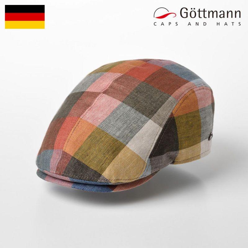 帽子 ハンチング Gottmann(ゴットマン) Jackson Linen(ジャクソン リネン) G2638407 オレンジイエロー