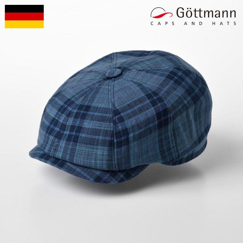 帽子 ハンチング Gottmann(ゴットマン) Kingston Tartan Check(キングストン タータンチェック) G2333351 ブルー