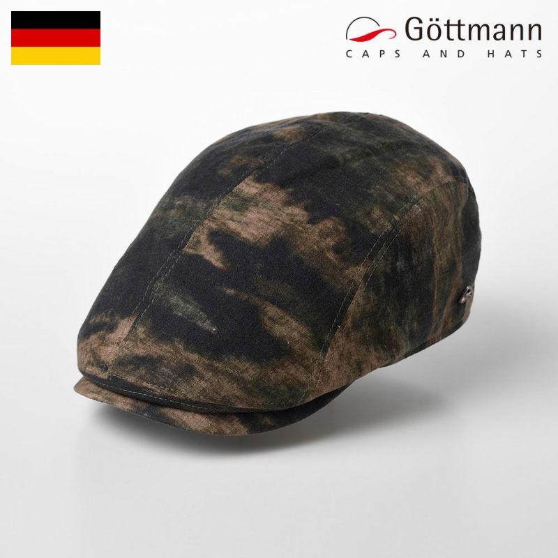 帽子 ハンチング Gottmann(ゴットマン) Jackson Linen(ジャクソン リネン) G2638403 キャモ