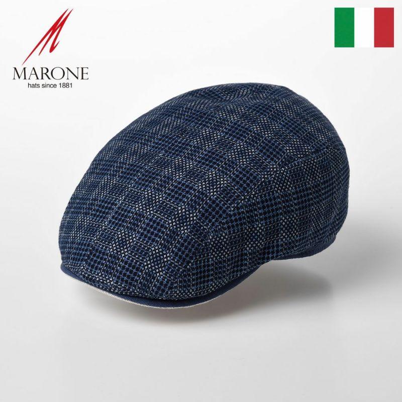 帽子 ハンチング MARONE(マローネ) Four Panel Berretto Linen(フォーパネルベレット リネン)CT644