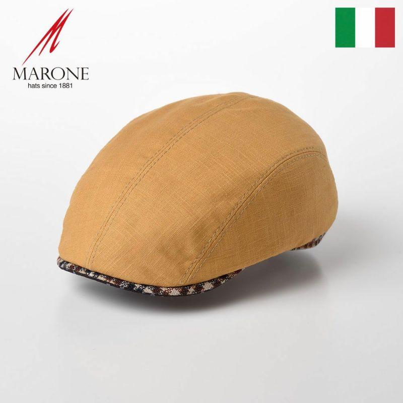帽子 ハンチング MARONE(マローネ) Tre Colori(トレコローリ)CT646 イエロー