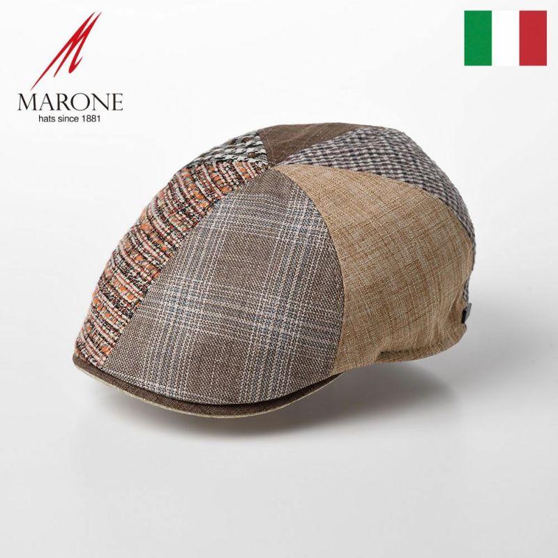 帽子 ハンチング MARONE(マローネ) Detroit Six Panel(デトロイト シックスパネル)CT648 ベージュ