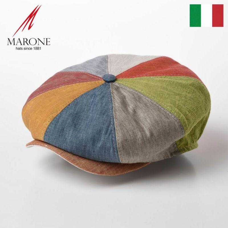 帽子 キャスケット MARONE(マローネ) Bristol Colorato(ブリストル コロラット)CT659