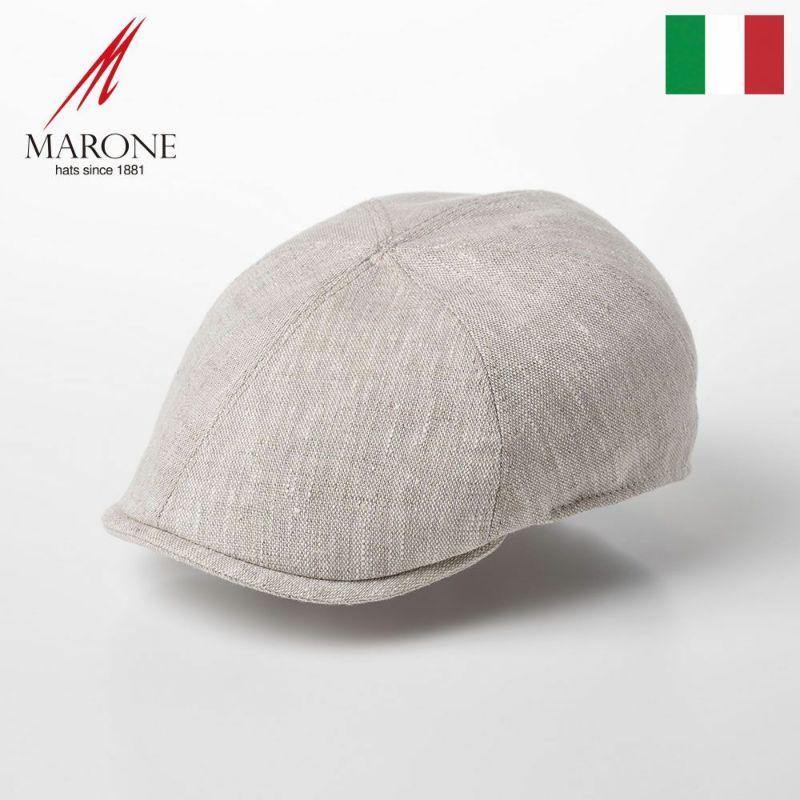 帽子 ハンチング MARONE(マローネ) Detroit Linen(デトロイト リネン)CT666 サンド