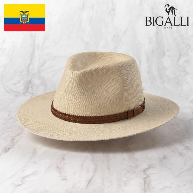 帽子 パナマハット BIGALLI(ビガリ) Vancouver TE(バンクーバー)ナチュラル