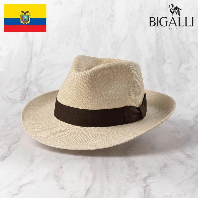 帽子 パナマハット BIGALLI(ビガリ) PRAGA(プラガ)ナチュラル