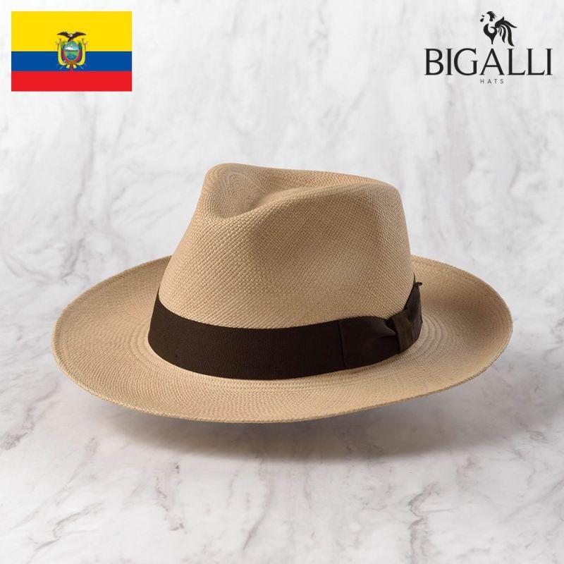 帽子 パナマハット BIGALLI(ビガリ) PRAGA(プラガ)ベージュ
