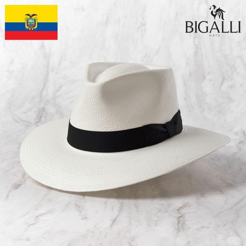 帽子 パナマハット BIGALLI(ビガリ) PRADO(プラード)ホワイト