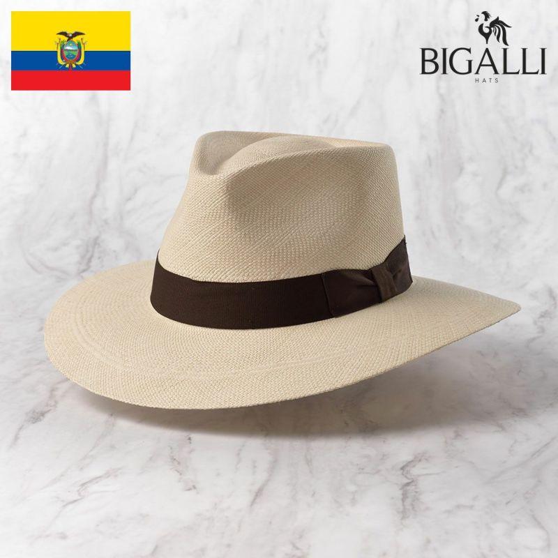 帽子 パナマハット BIGALLI(ビガリ) PRADO(プラード)ナチュラル