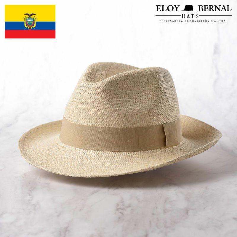 帽子 パナマハット ELOY BERNAL(エロイベルナール) PARIENTES(パリエンテ)ゴールド