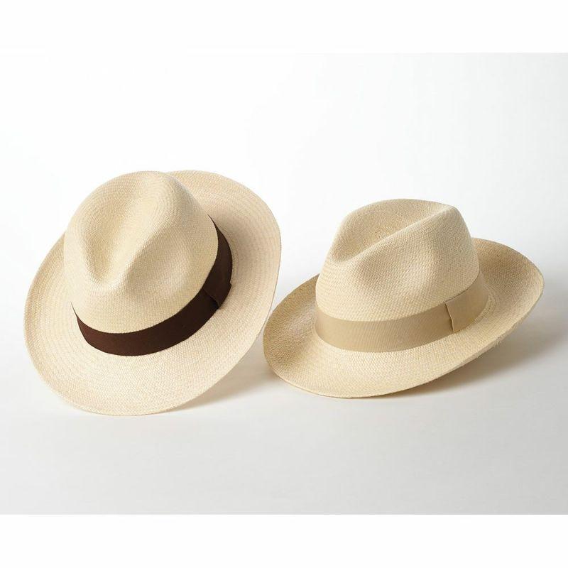 生成りの帽体パリエンテ