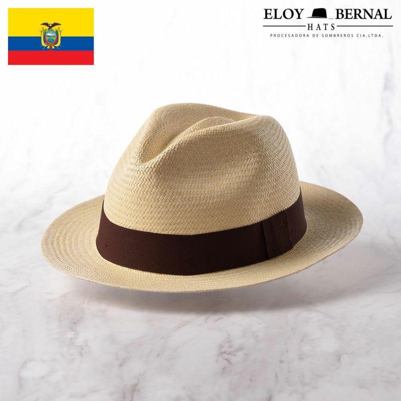 帽子 パナマハット ELOY BERNAL(エロイベルナール) CAMPANELLA(カンパネラ)ブラウン
