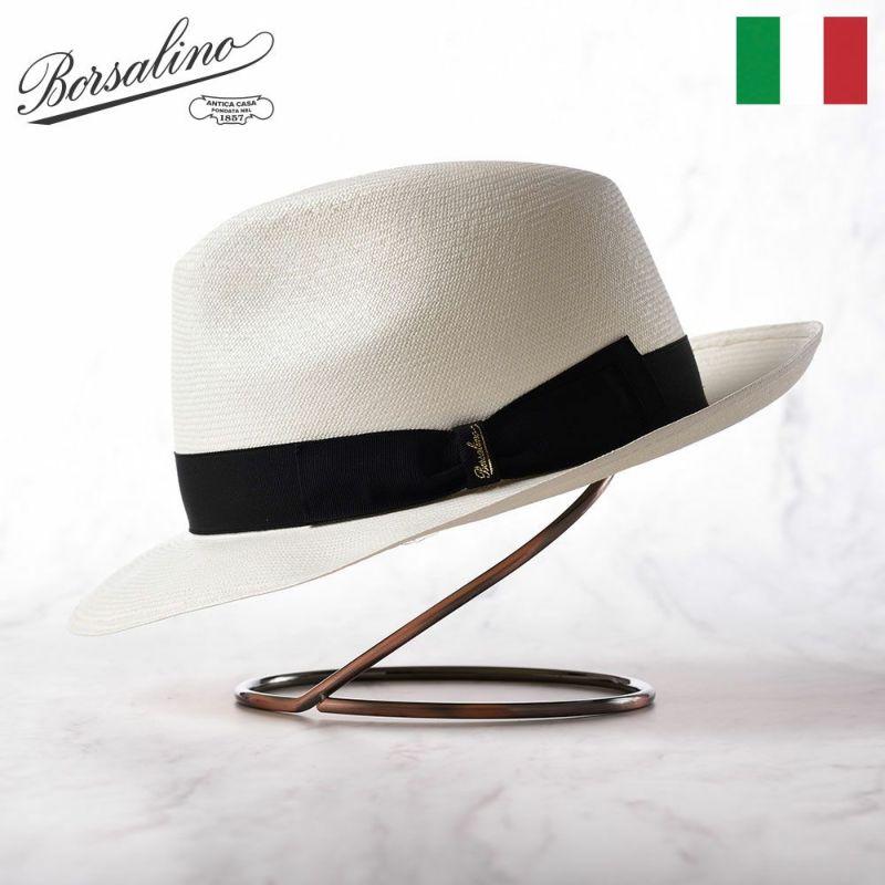 帽子 パナマハット Borsalino(ボルサリーノ) Panama ExtraFine(パナマ エクストラファイン) 140339 ホワイト