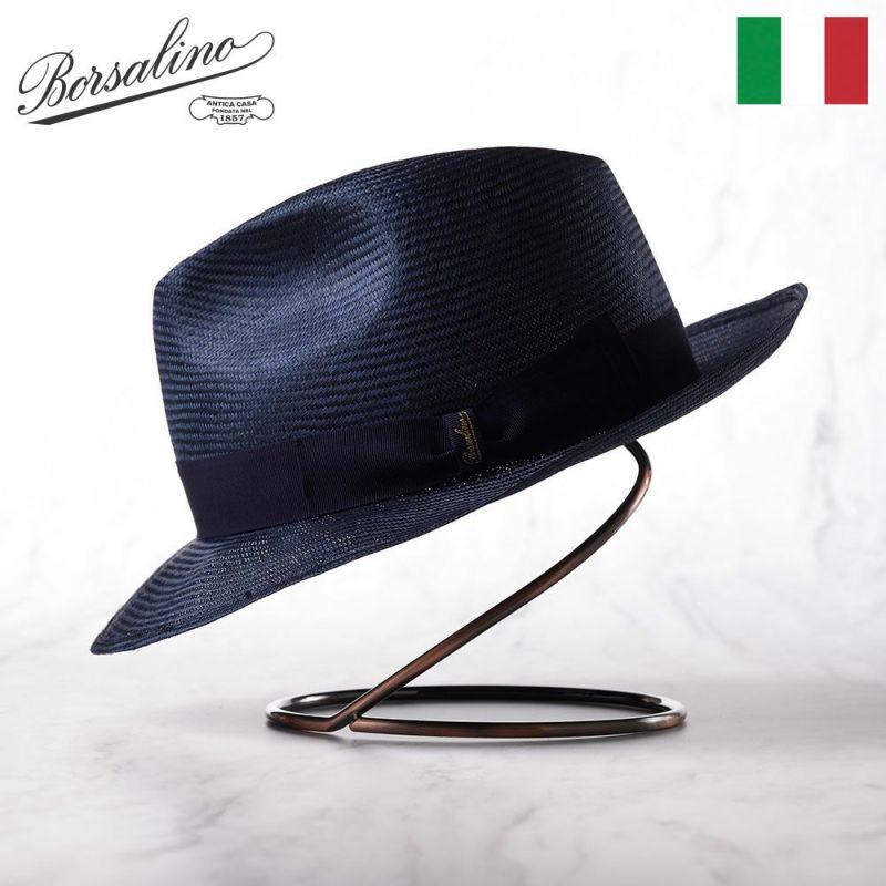 帽子 パラシゾール・ハット Borsalino(ボルサリーノ) Parasizole(パラシゾール) 141082 ネイビー