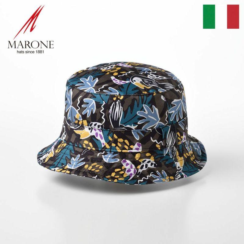 帽子 ソフトハット MARONE(マローネ) Bucket Botanico(バケット ボタニコ)LR04