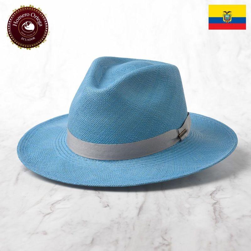 帽子 パナマハット Homero Ortega(オメロオルテガ) Jungla Azul Antique(ジャングル アズールアンティーク)