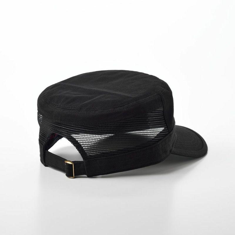 COTTON WORK CAP(コットンワークキャップ)SE593 ブラック