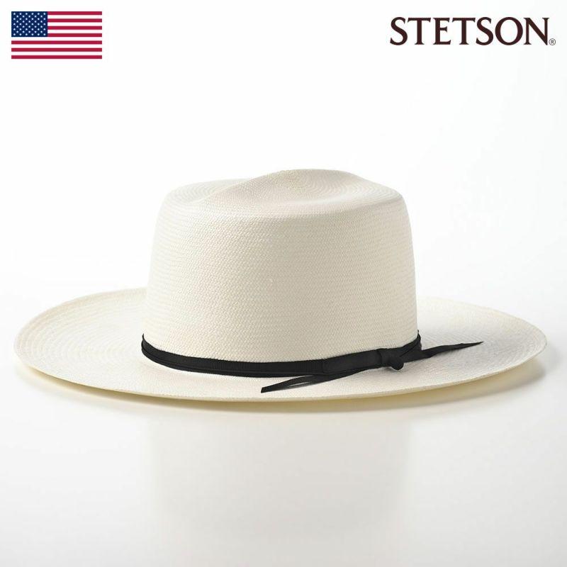 帽子 パナマハット STETSON(ステットソン) OPTIMO PANAMA G8(オプティモパナマ G8)SE598 ホワイト