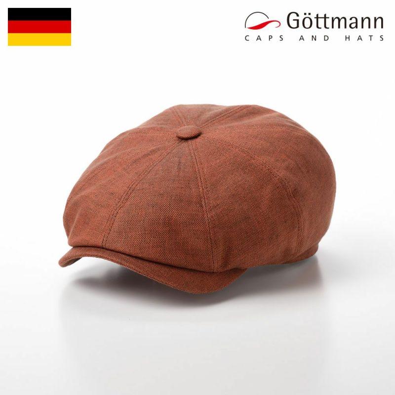 帽子 ハンチング Gottmann(ゴットマン) Kingston Linen(キングストン リネン) G2333345 レッド