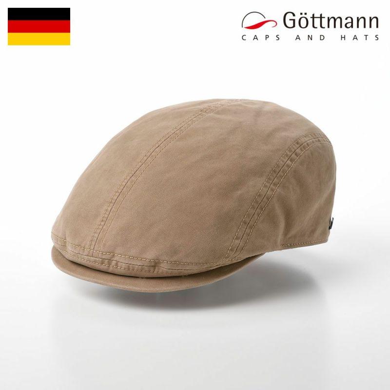 帽子 ハンチング Gottmann(ゴットマン) Orlando Cotton(オーランド コットン) G29922210 ベージュ